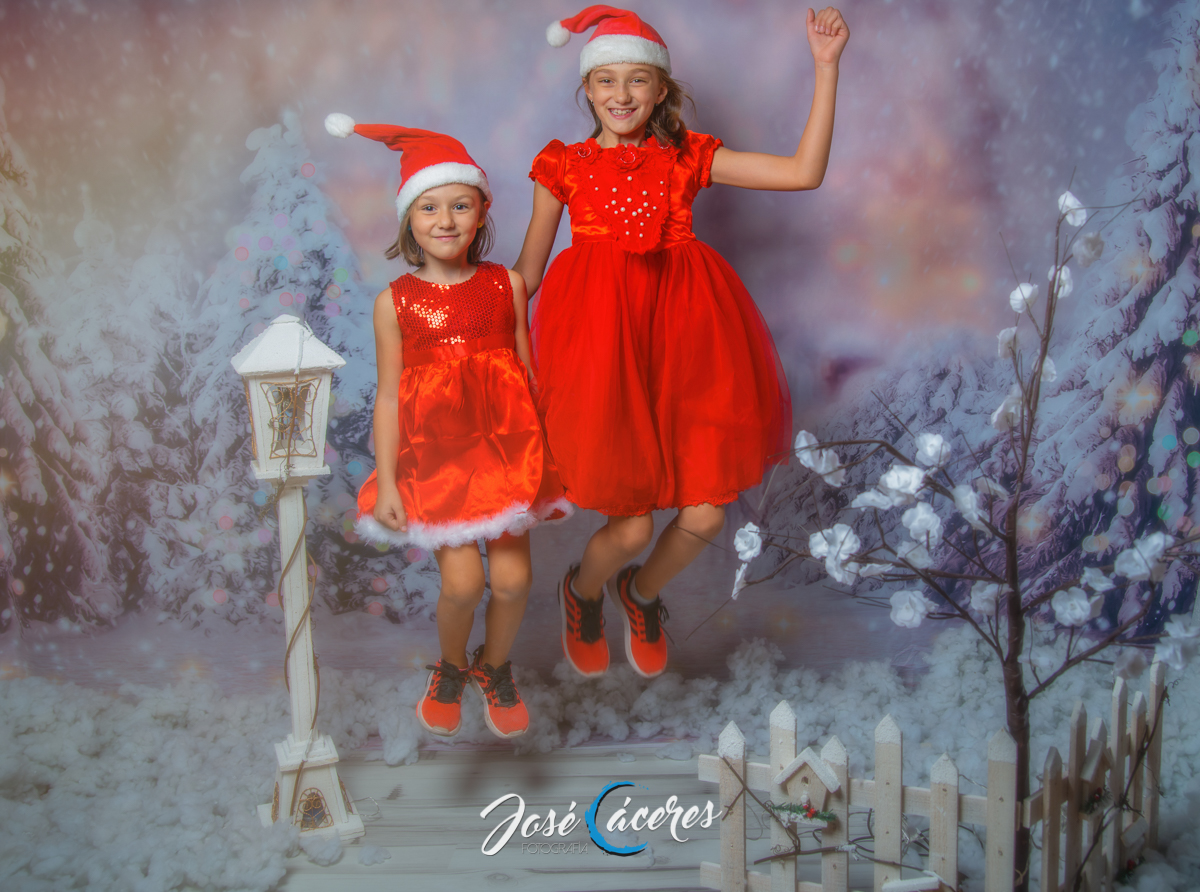 Sesión Fotográfica de Navidad en Jerez
