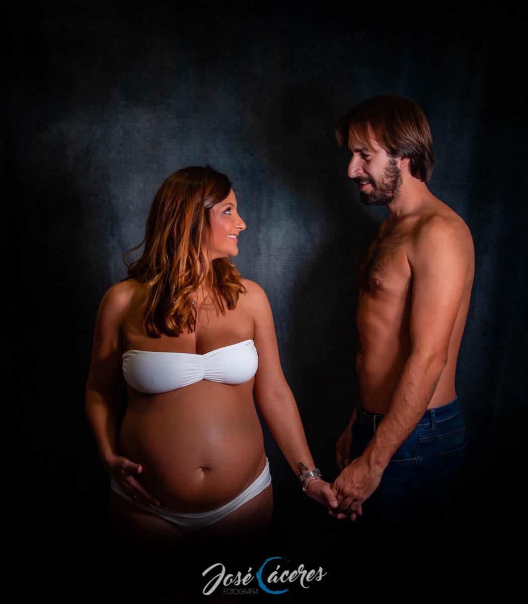 Sesión fotográfica de premamá