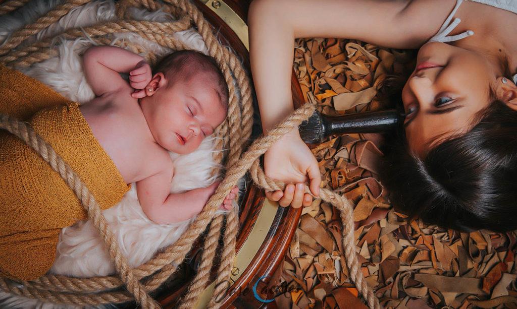 Sesión familiar newborn
