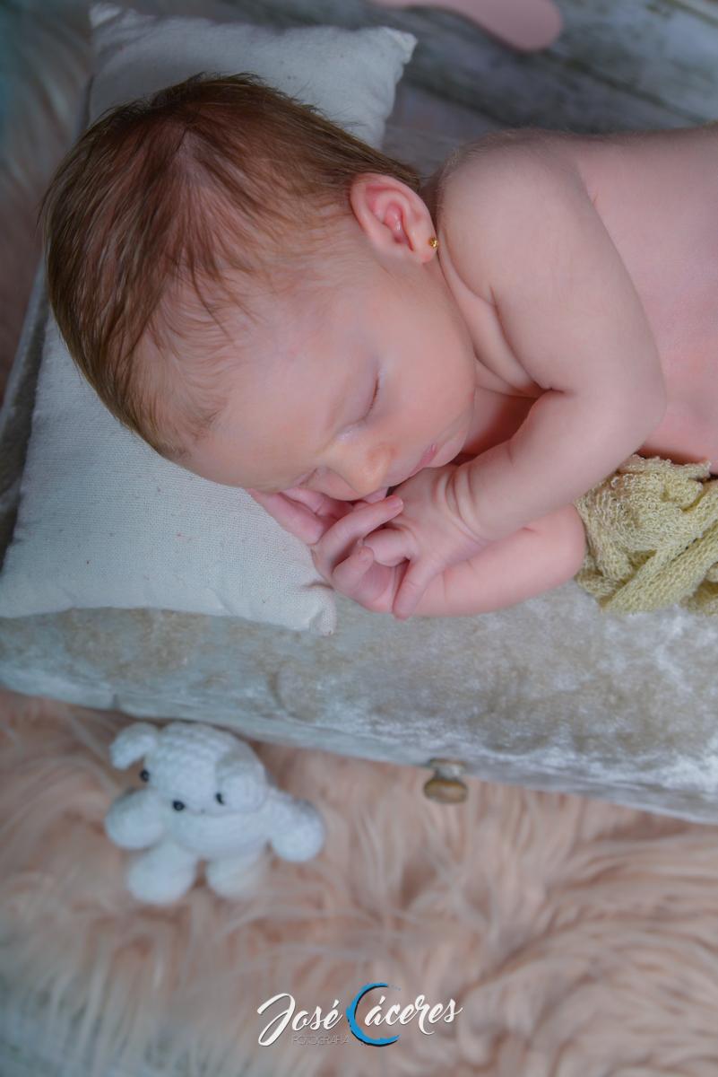 Sesión Newborn Lucía